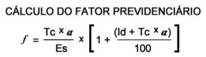 Fórmula Fator Previdenciário